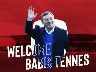 «Welcome Babis Tennes»